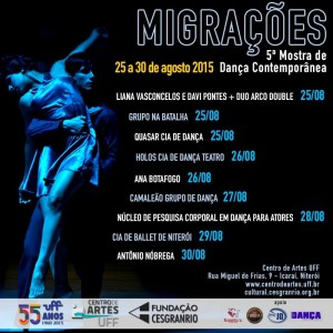 E-flyer Migrações (Fanpage)